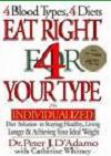 Blood type diet supplements and books for order